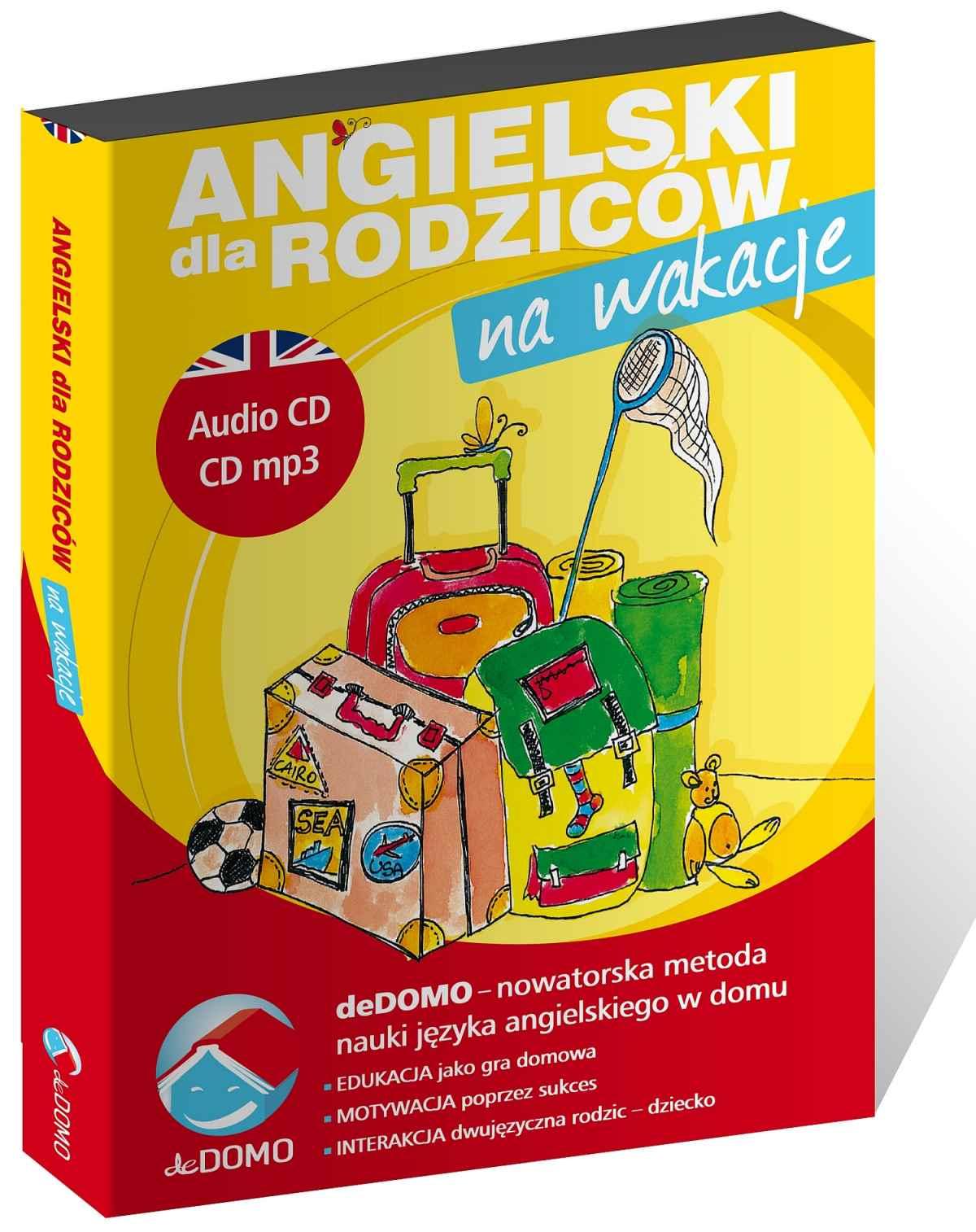 Angielski dla rodziców. Na wakacje - audiobook. deDOMO - Audiobook (Książka audio MP3) do pobrania w całości w archiwum ZIP