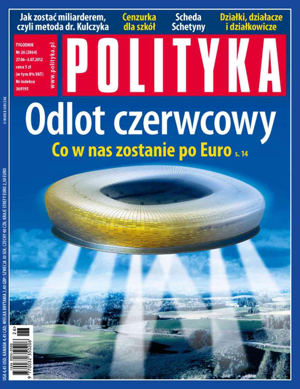 Polityka nr 26/2012 - Ebook (Książka PDF) do pobrania w formacie PDF