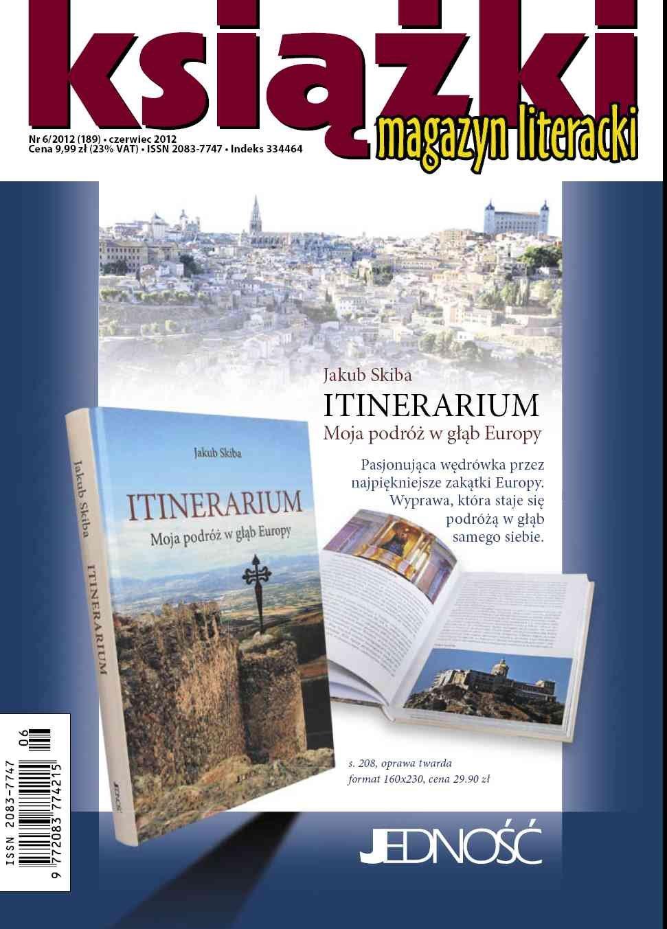 Magazyn Literacki KSIĄŻKI - nr 6/2012 (189) - Ebook (Książka PDF) do pobrania w formacie PDF