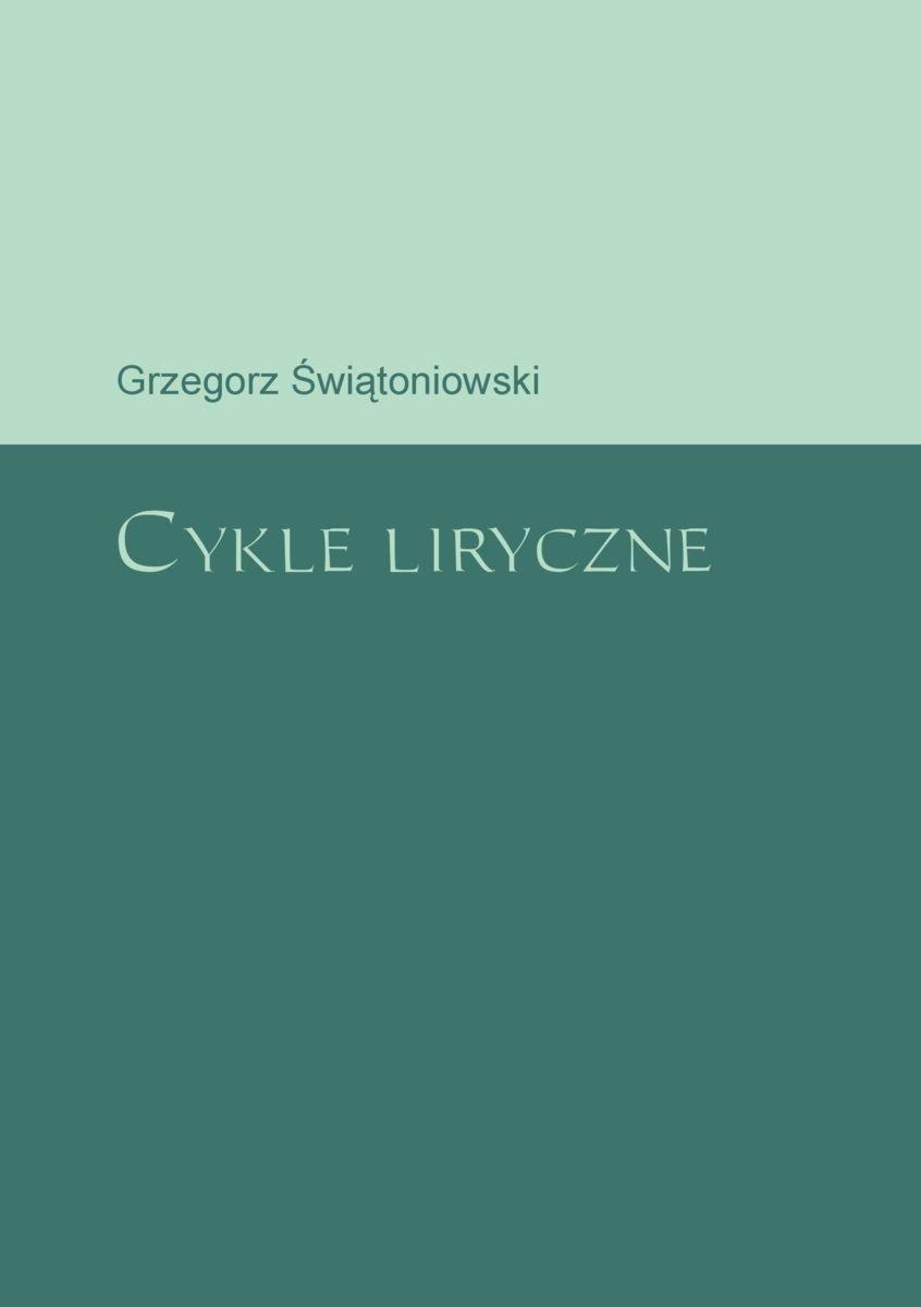 Cykle liryczne - Ebook (Książka PDF) do pobrania w formacie PDF