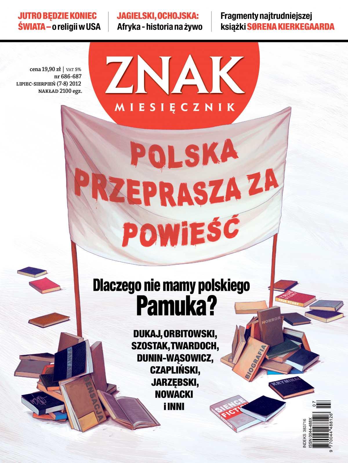 Miesięcznik Znak. Lipiec - sierpień 2012 - Ebook (Książka PDF) do pobrania w formacie PDF