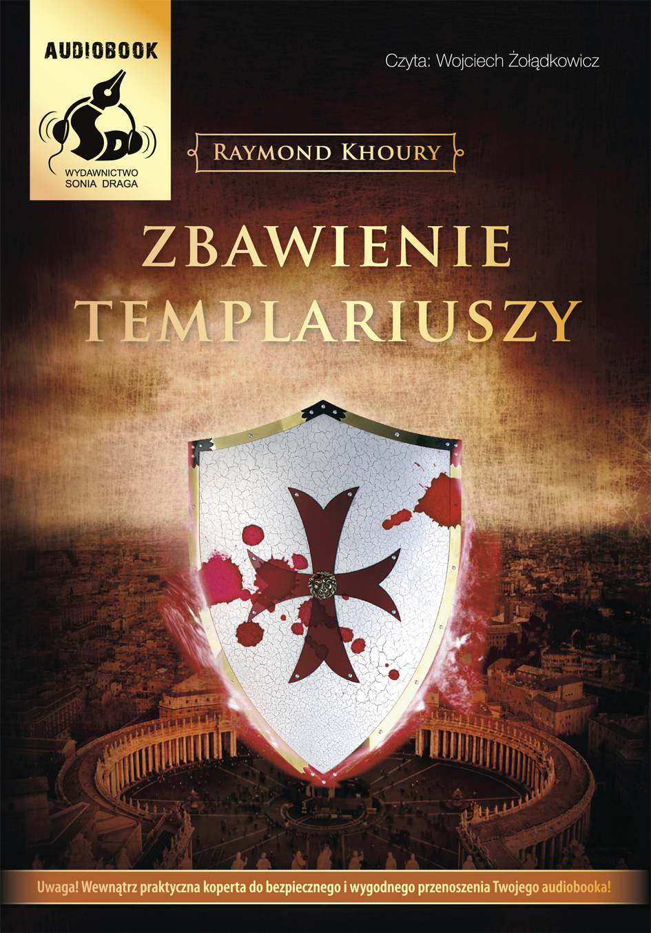 Zbawienie Templariuszy - Audiobook (Książka audio MP3) do pobrania w całości w archiwum ZIP