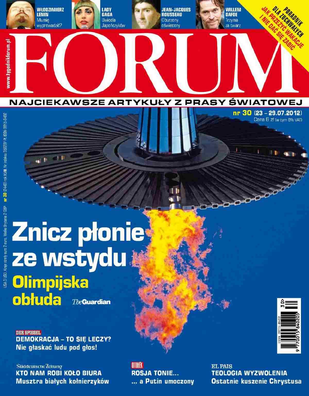 Forum nr 30/2012 - Ebook (Książka PDF) do pobrania w formacie PDF