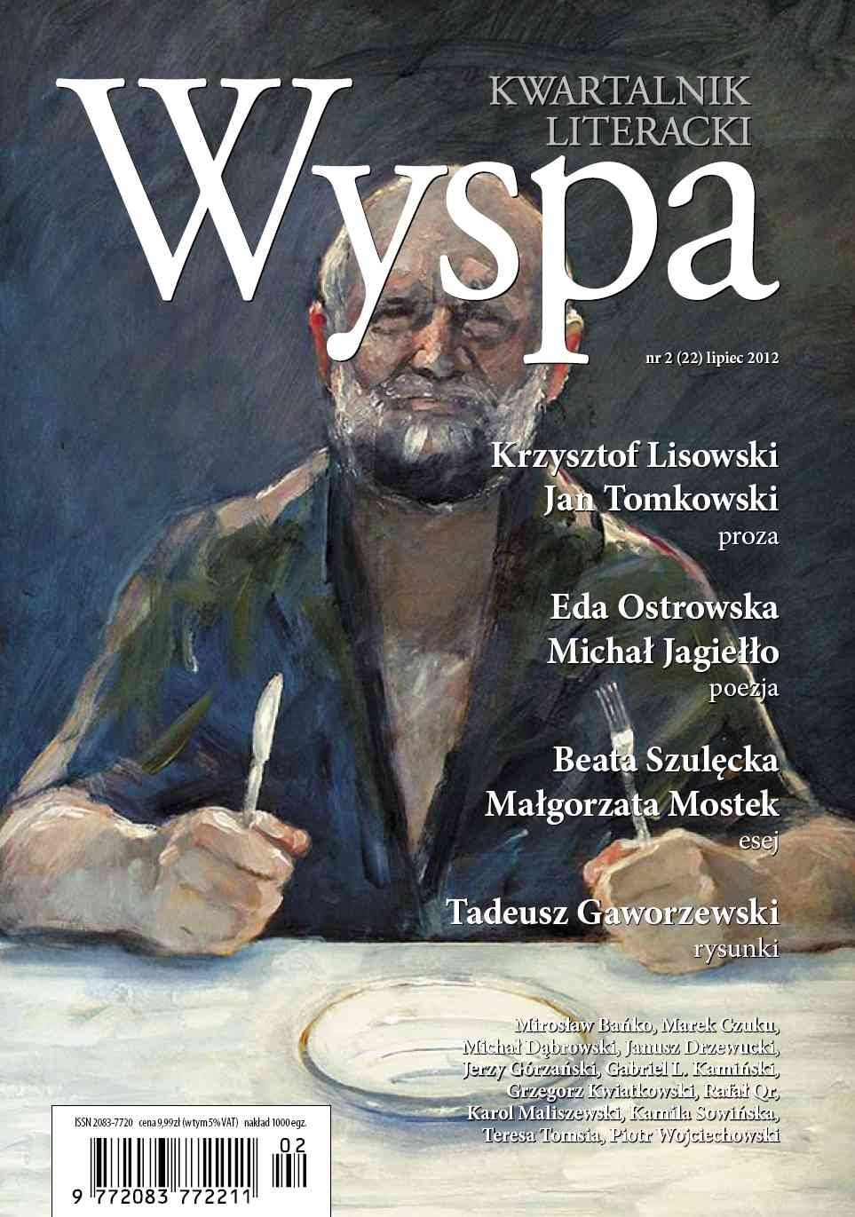 WYSPA Kwartalnik Literacki - nr 2/2012 (22) - Ebook (Książka PDF) do pobrania w formacie PDF