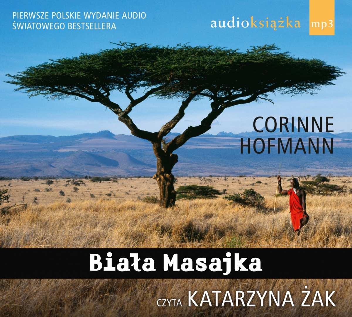 Biała Masajka - Audiobook (Książka audio MP3) do pobrania w całości w archiwum ZIP