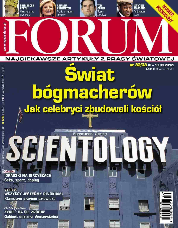 Forum nr 32-33/2012 - Ebook (Książka PDF) do pobrania w formacie PDF