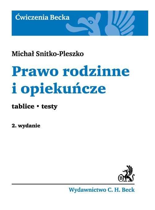 Prawo rodzinne i opiekuńcze Tablice. Testy - Ebook (Książka PDF) do pobrania w formacie PDF
