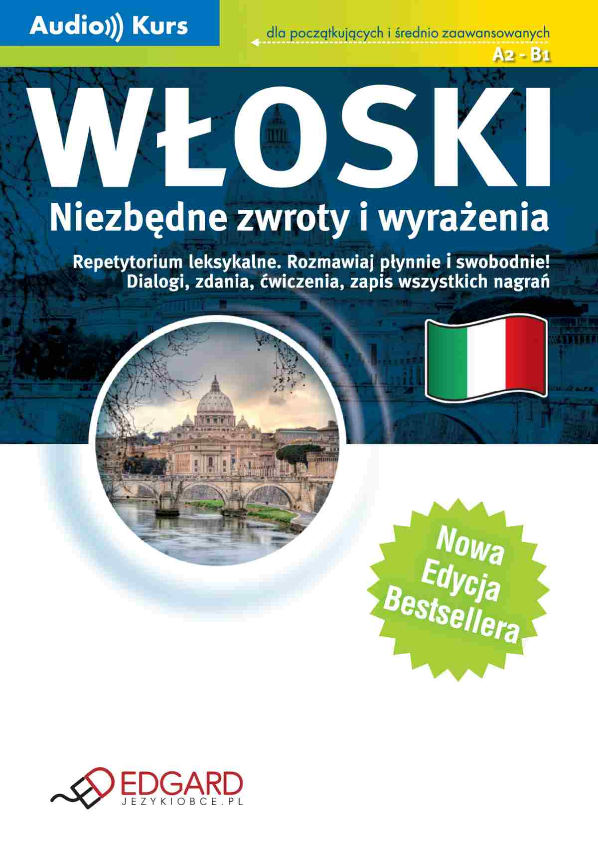 Włoski Niezbędne zwroty i wyrażenia - Audiobook (Książka audio MP3) do pobrania w całości w archiwum ZIP