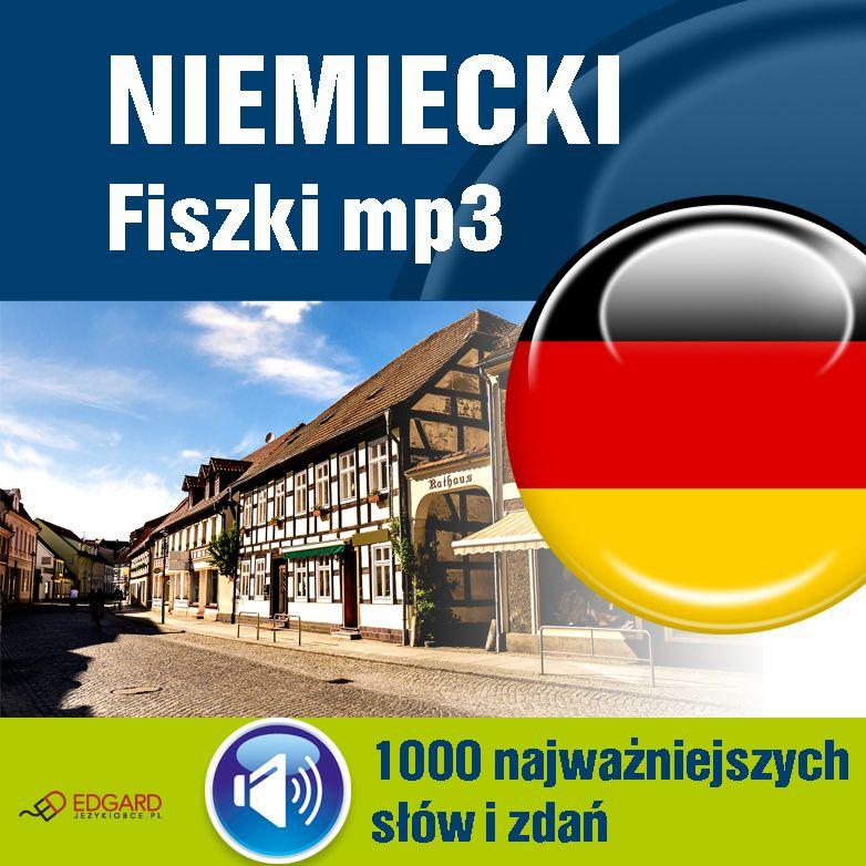 Niemiecki Fiszki mp3 1000 najważniejszych słów i zdań (nagrania mp3) - Audiobook (Książka audio MP3) do pobrania w całości w archiwum ZIP