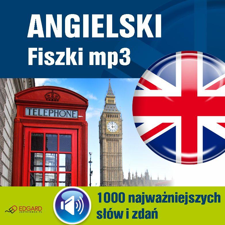 Angielski Fiszki mp3 1000 najważniejszych słów i zdań - Audiobook (Książka audio MP3) do pobrania w całości w archiwum ZIP