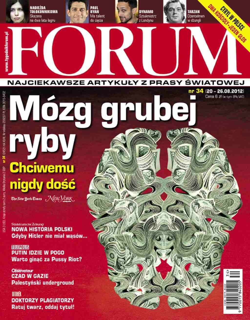 Forum nr 34/2012 - Ebook (Książka PDF) do pobrania w formacie PDF