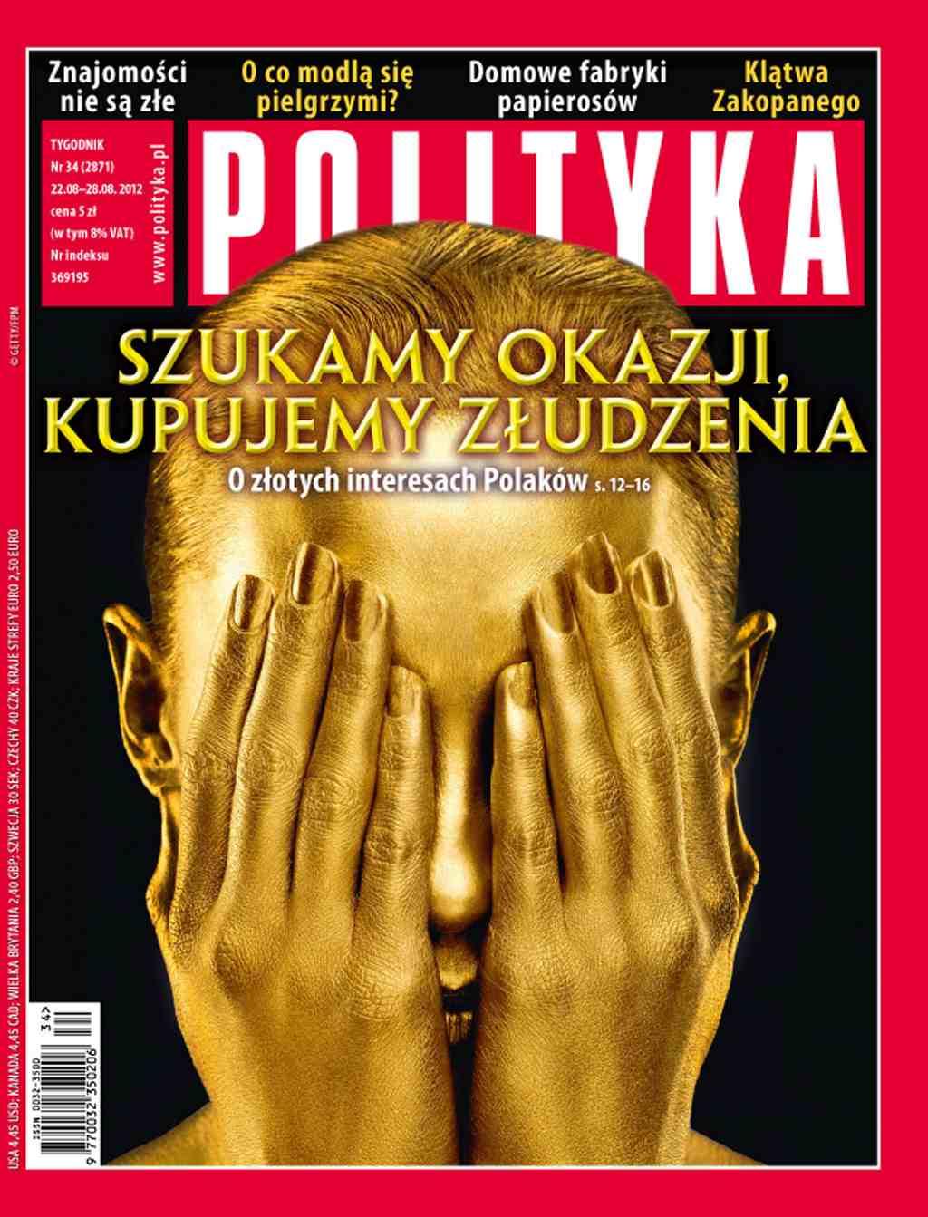 Polityka nr 34/2012 - Ebook (Książka PDF) do pobrania w formacie PDF