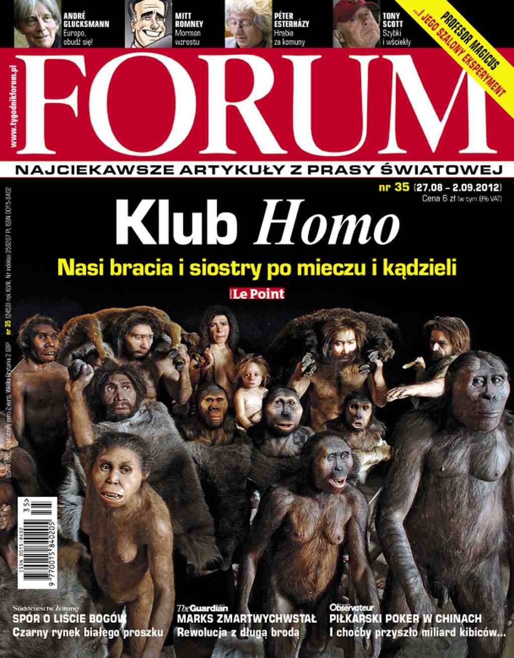 Forum nr 35/2012 - Ebook (Książka PDF) do pobrania w formacie PDF