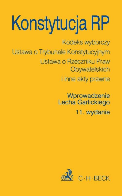 Konstytucja RP. Wydanie 11 - Ebook (Książka PDF) do pobrania w formacie PDF