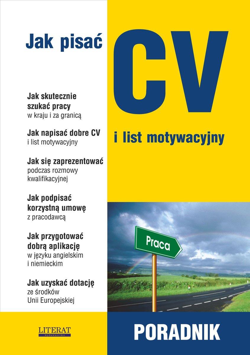 Jak Pisać Cv I List Motywacyjny Poradnik Ebook Sylwia Sądowska
