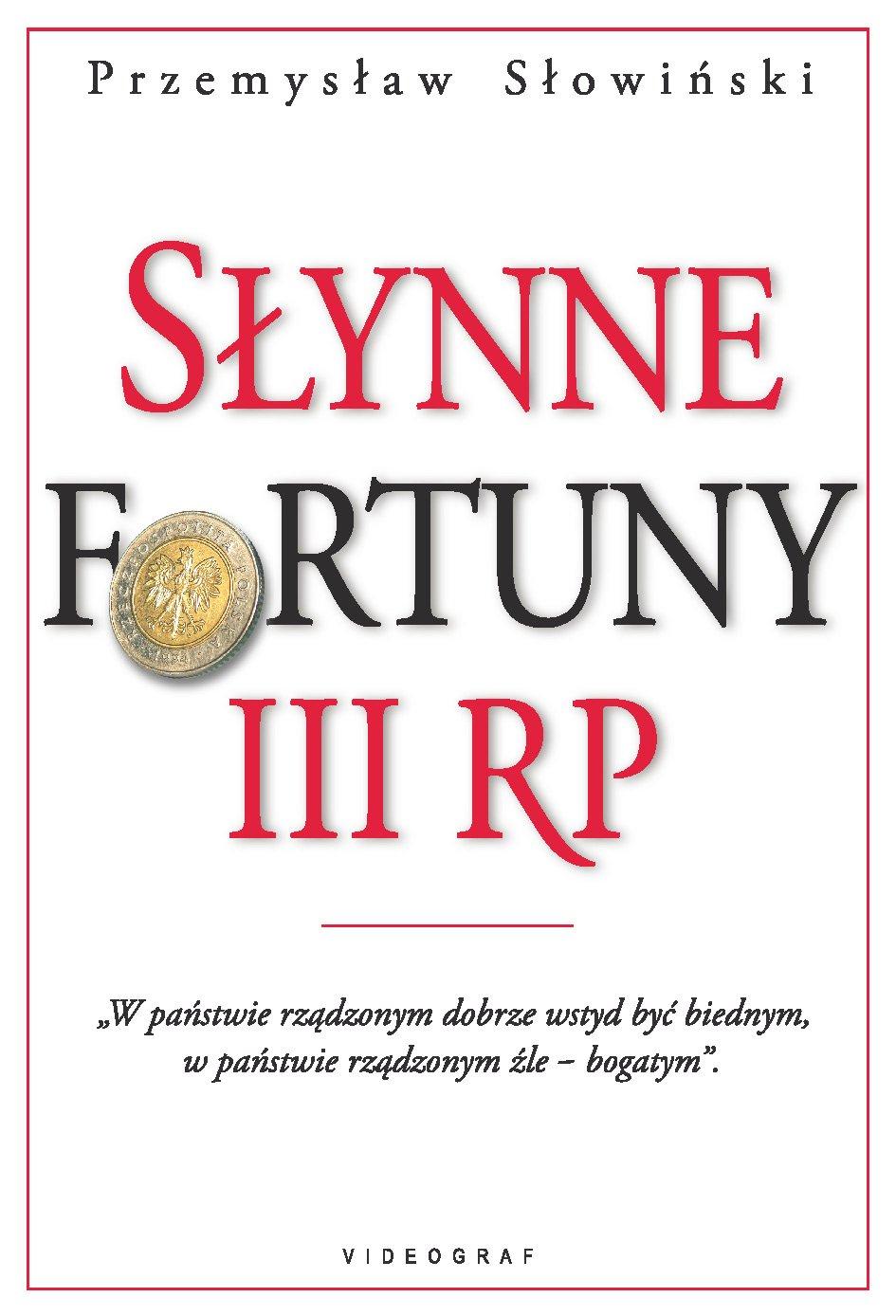 Słynne fortuny III RP - Ebook (Książka EPUB) do pobrania w formacie EPUB