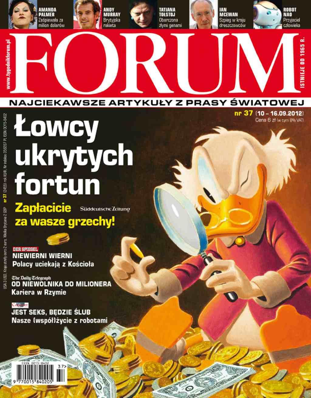 Forum nr 37/2012 - Ebook (Książka PDF) do pobrania w formacie PDF