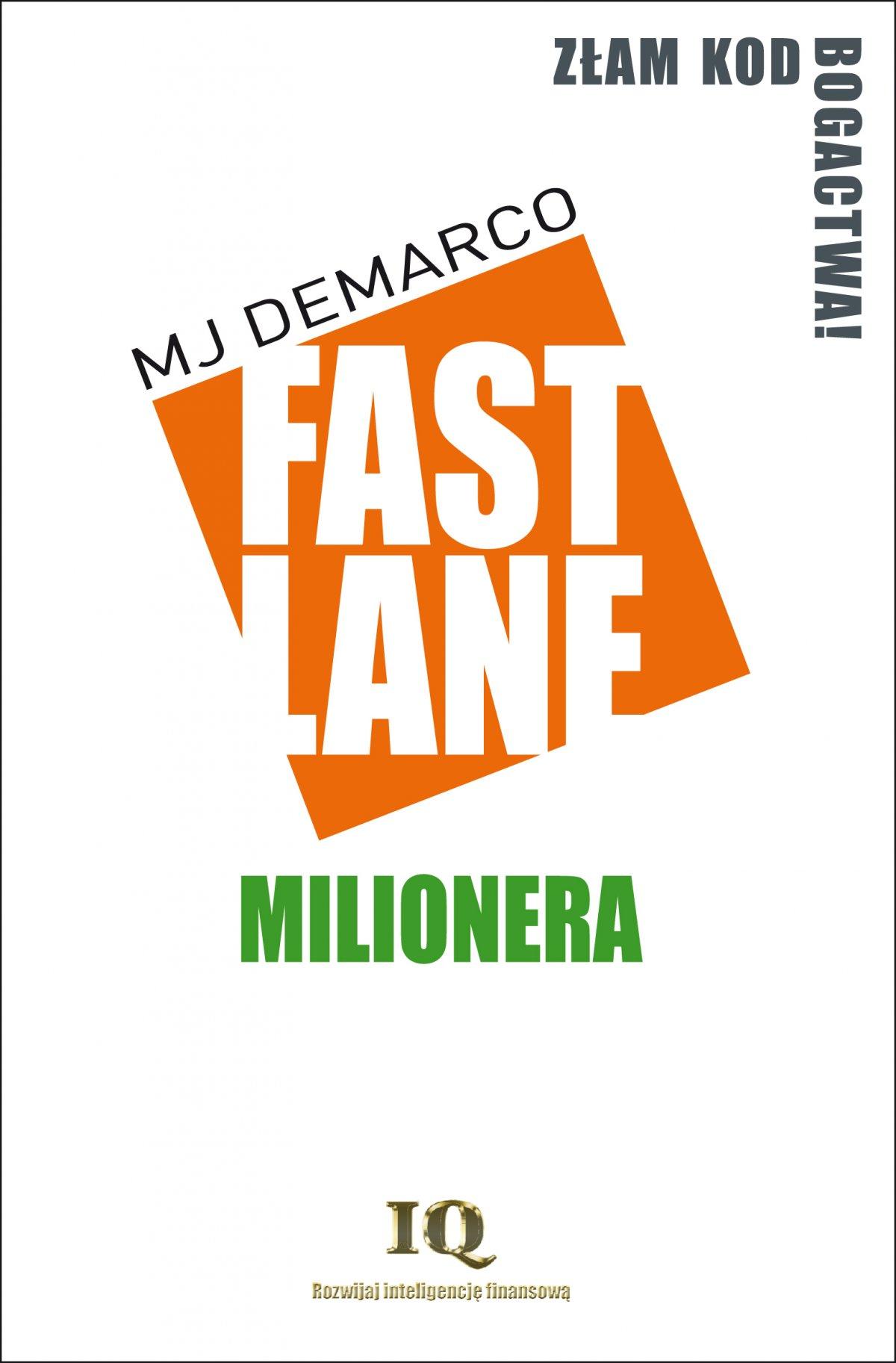 Fastlane milionera - Ebook (Książka EPUB) do pobrania w formacie EPUB