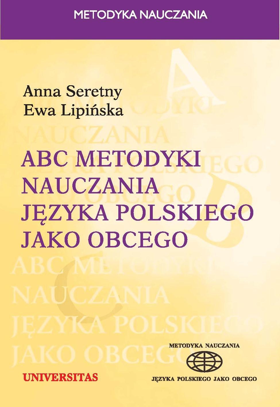 ABC metodyki nauczania języka polskiego jako obcego - Ebook (Książka PDF) do pobrania w formacie PDF