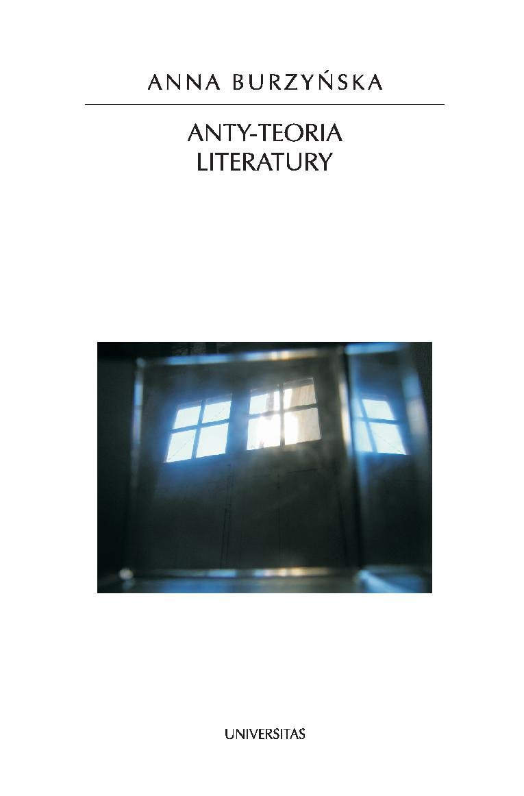 Anty-teoria literatury - Ebook (Książka PDF) do pobrania w formacie PDF