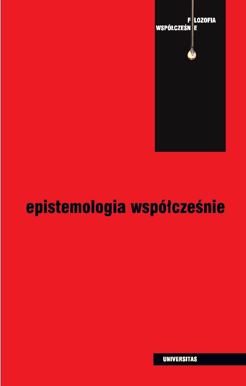 Epistemologia współcześnie - Ebook (Książka PDF) do pobrania w formacie PDF