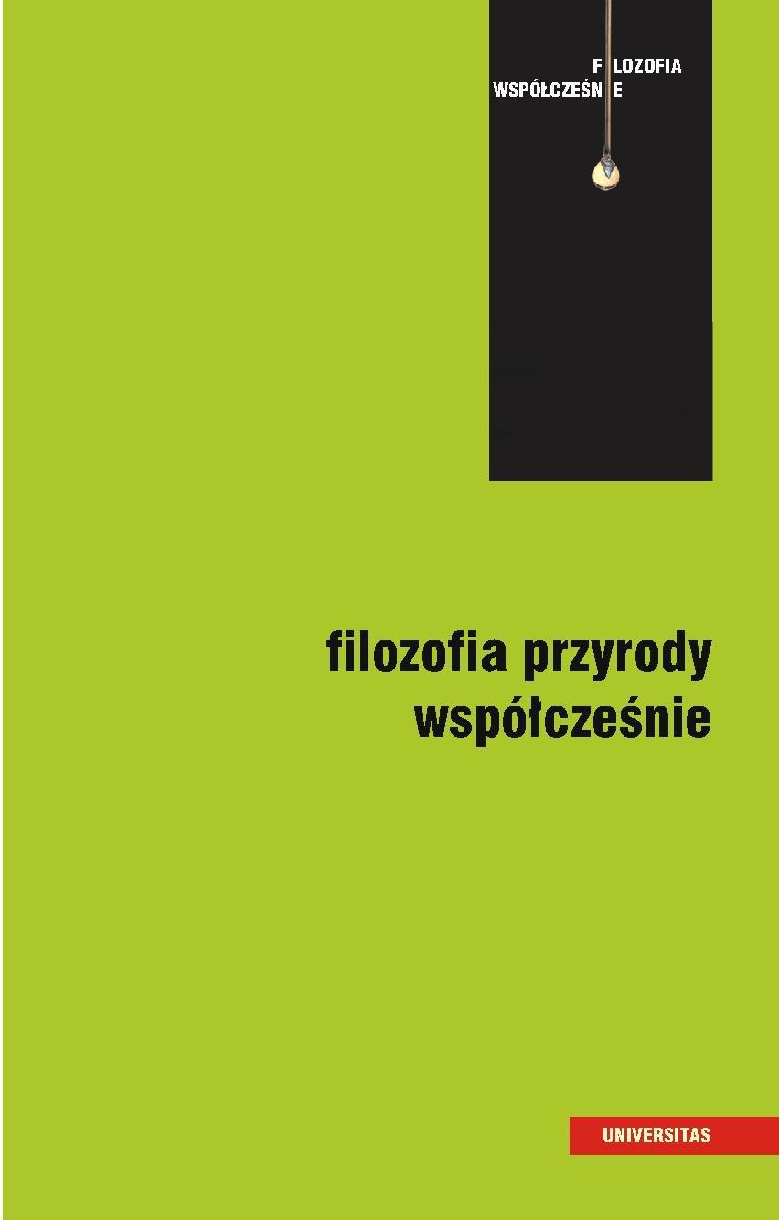 Filozofia przyrody współcześnie - Ebook (Książka PDF) do pobrania w formacie PDF