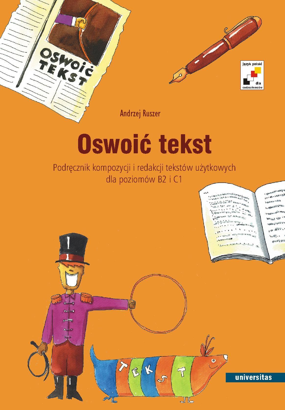 Oswoić tekst - Ebook (Książka PDF) do pobrania w formacie PDF