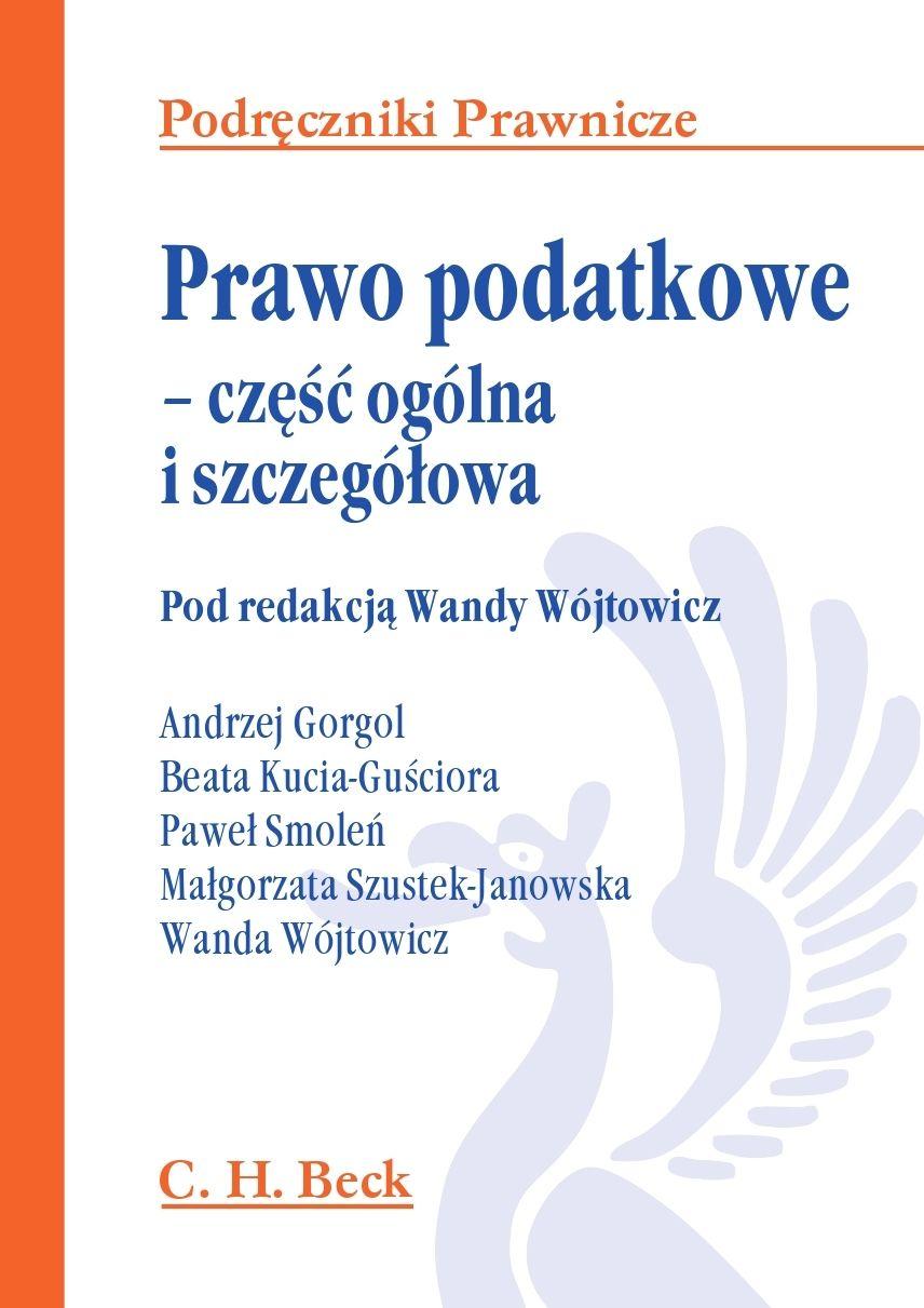 Prawo podatkowe – część ogólna i szczegółowa - Ebook (Książka PDF) do pobrania w formacie PDF