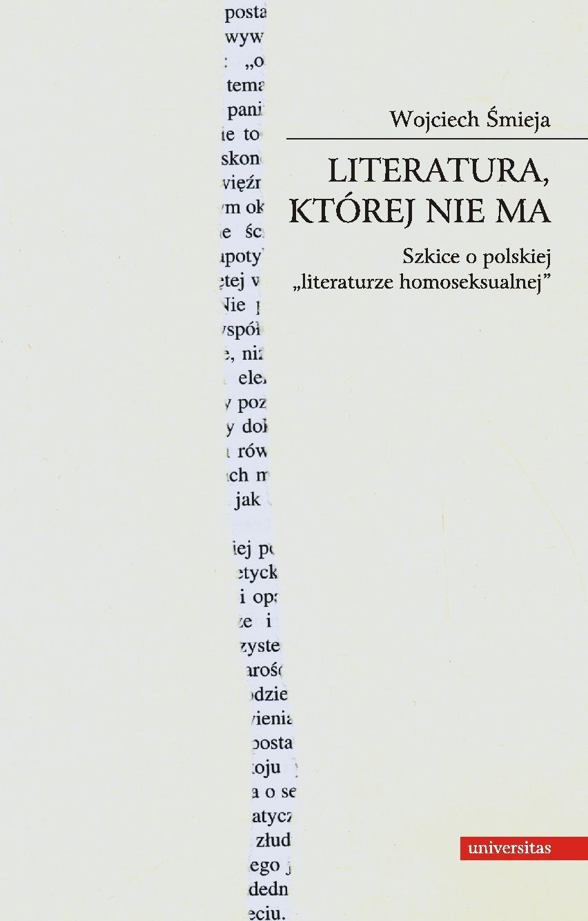 Literatura, której nie ma - Ebook (Książka PDF) do pobrania w formacie PDF