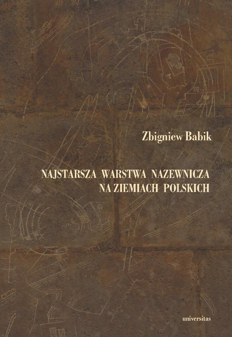 Najstarsza warstwa nazewnicza na ziemiach polskich - Ebook (Książka PDF) do pobrania w formacie PDF