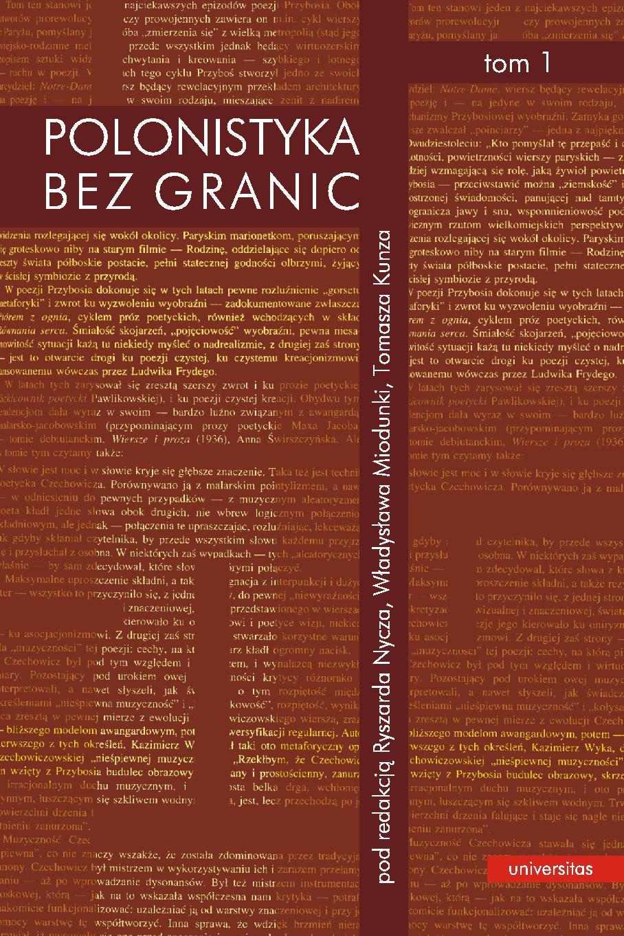 Polonistyka bez granic. Tom 1 i 2 - Ebook (Książka PDF) do pobrania w formacie PDF