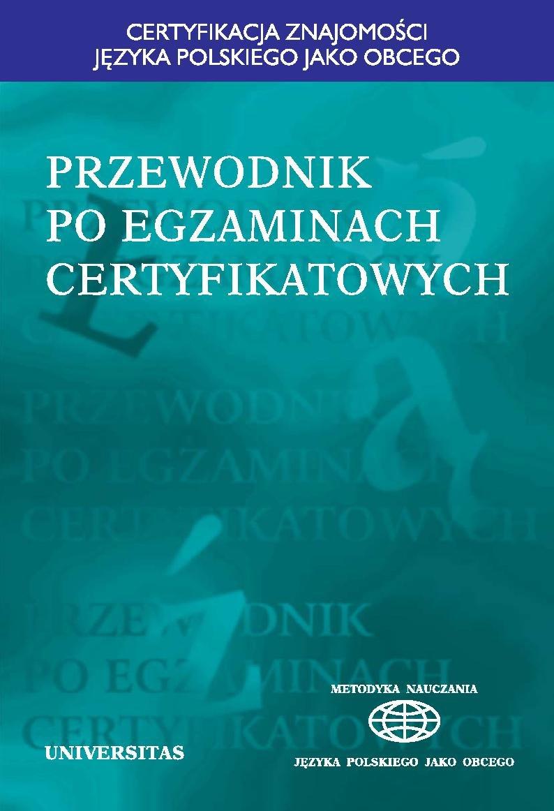 Przewodnik po egzaminach certyfikatowych - Ebook (Książka PDF) do pobrania w formacie PDF