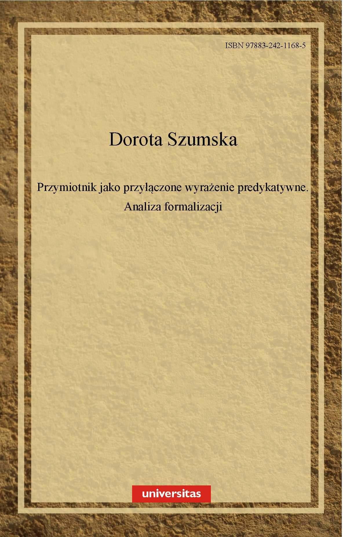 Przymiotnik jako przyłączone wyrażenie predykatywne - Ebook (Książka PDF) do pobrania w formacie PDF