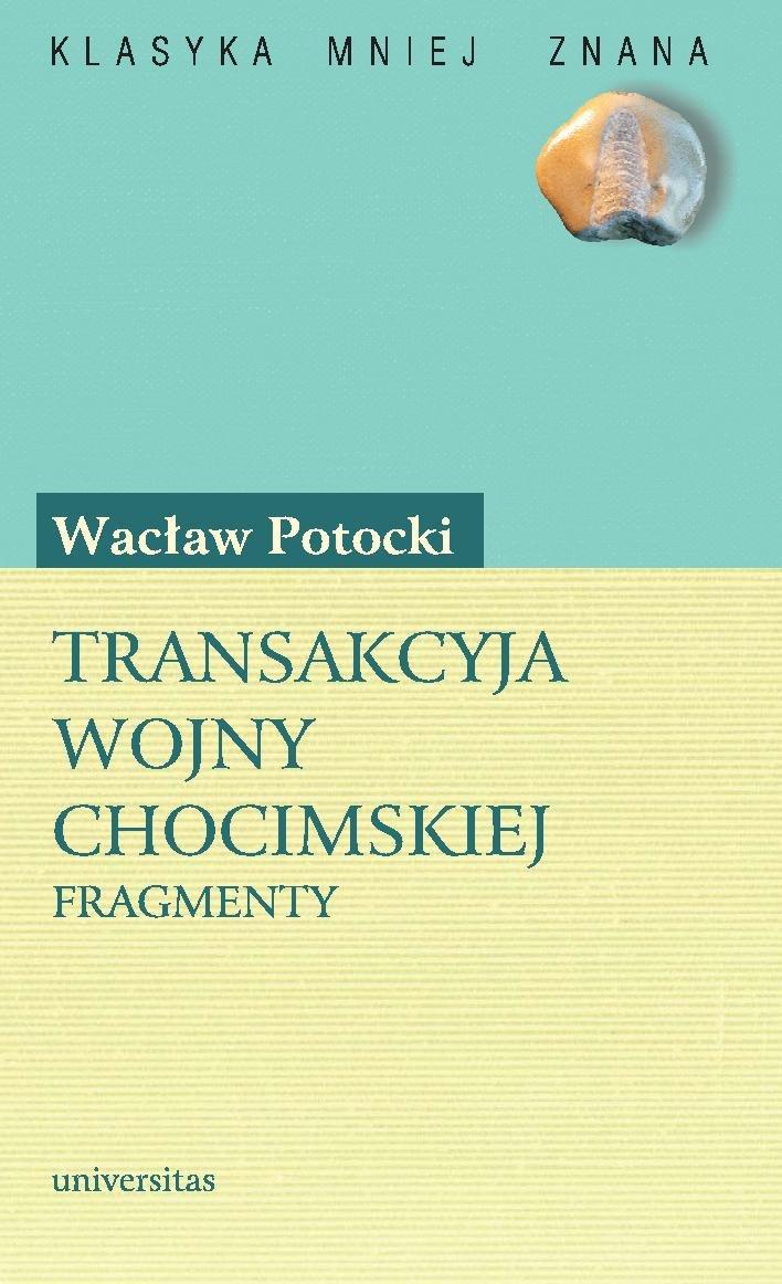 Transakcyja wojny chocimskiej - Ebook (Książka PDF) do pobrania w formacie PDF