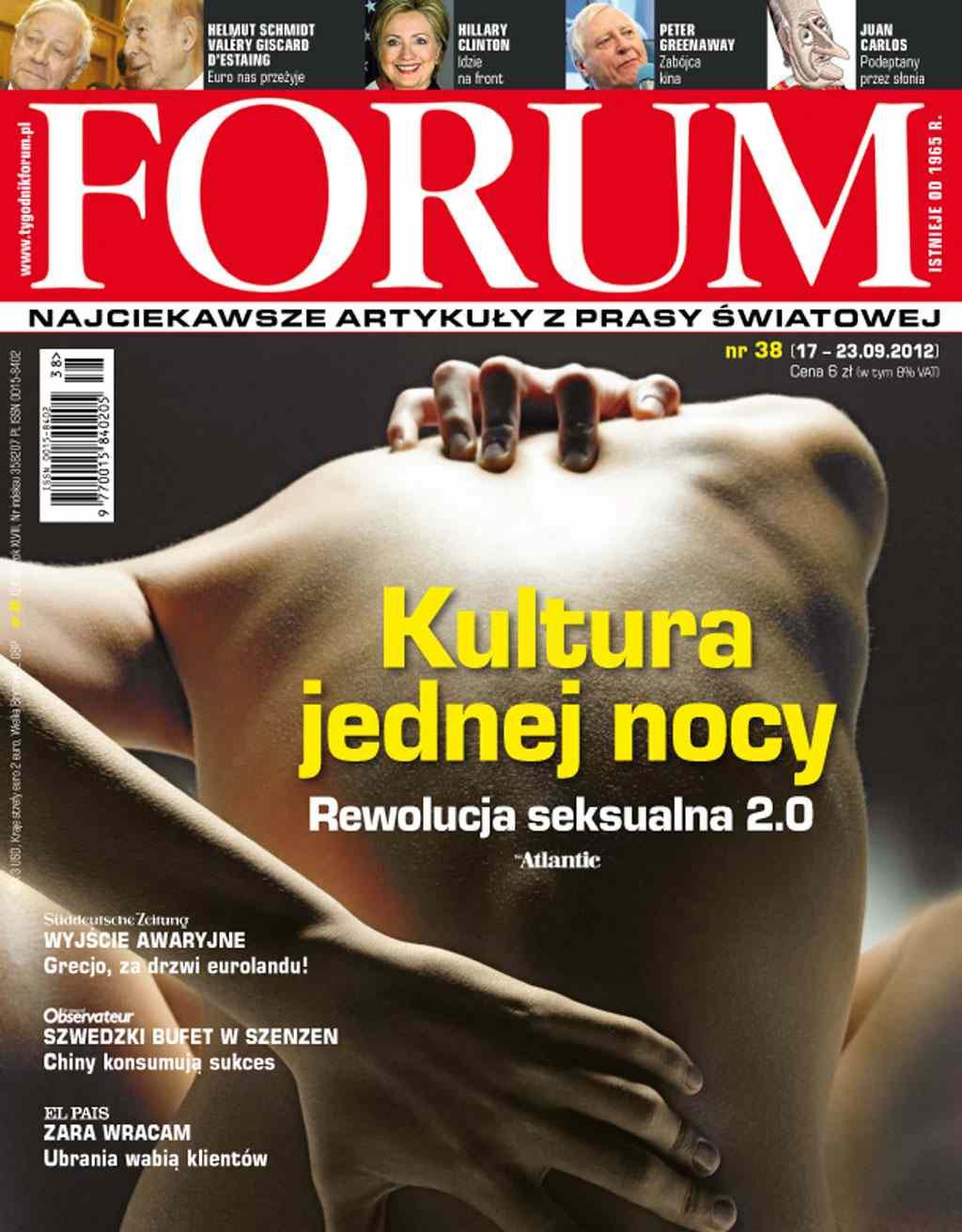 Forum nr 38/2012 - Ebook (Książka PDF) do pobrania w formacie PDF