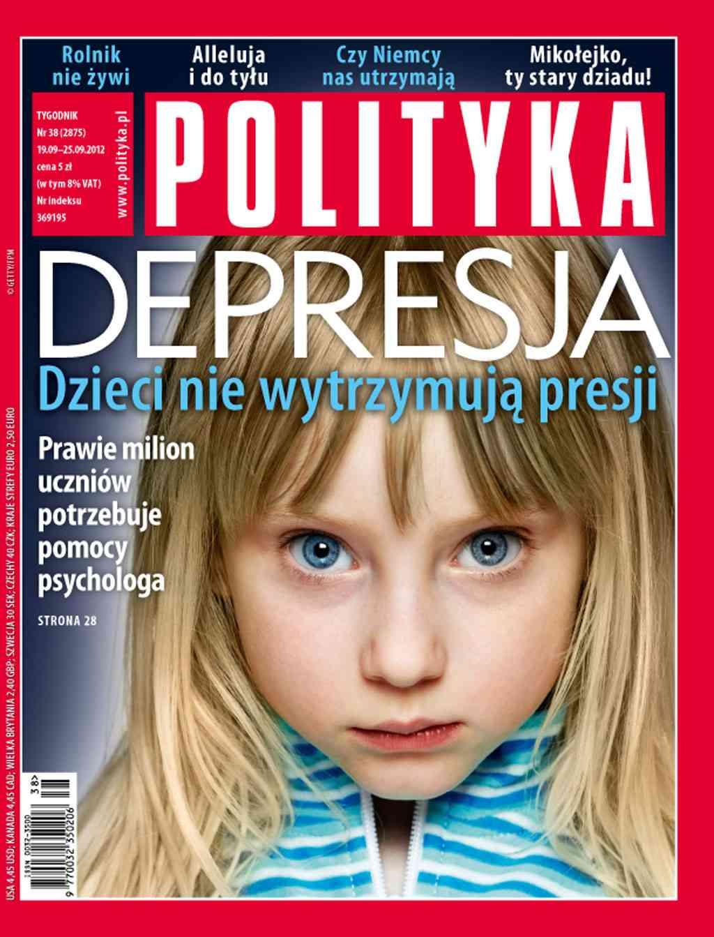 Polityka nr 38/2012 - Ebook (Książka PDF) do pobrania w formacie PDF
