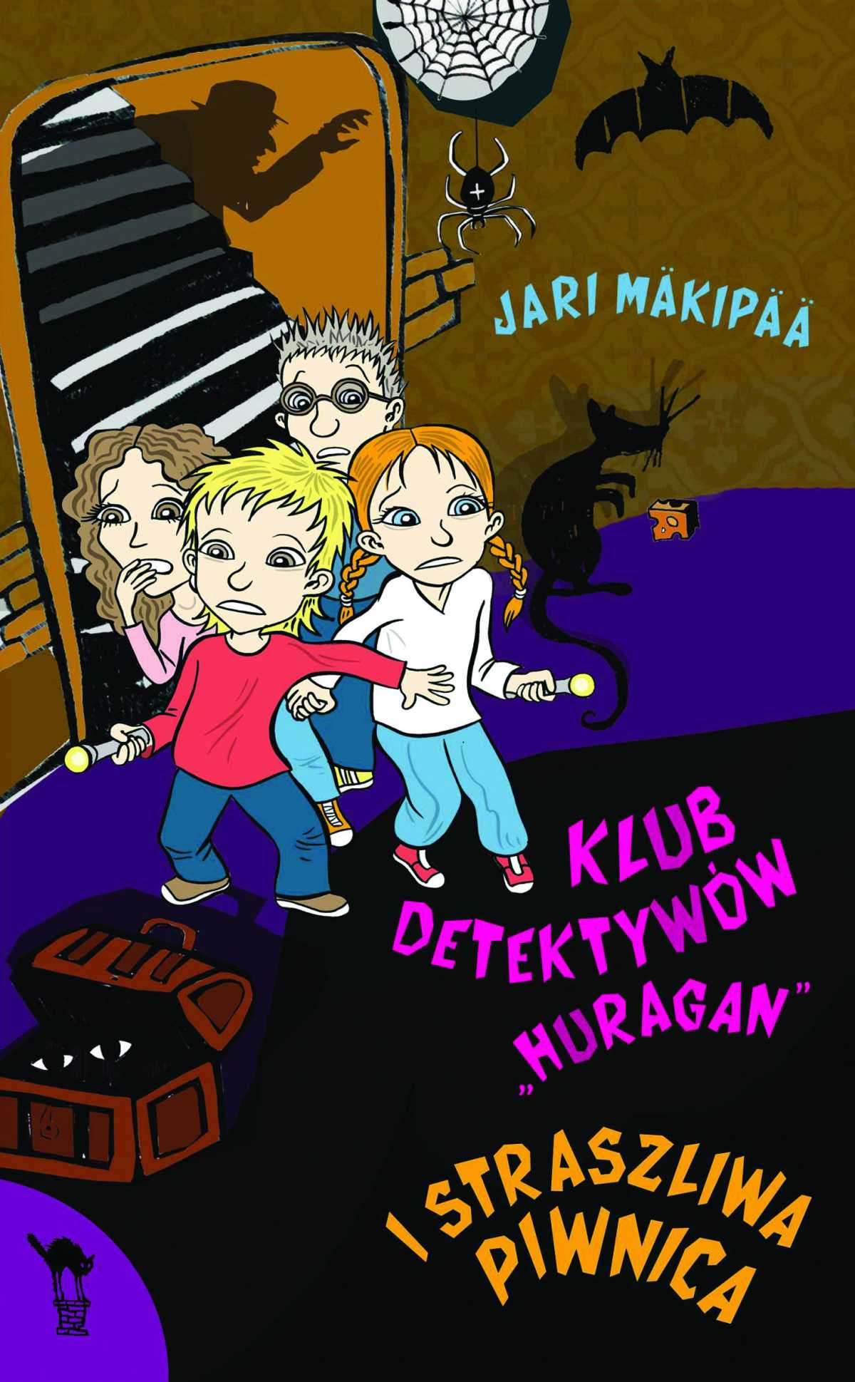 """Klub detektywów """"Huragan"""" i straszliwa piwnica - Ebook (Książka EPUB) do pobrania w formacie EPUB"""