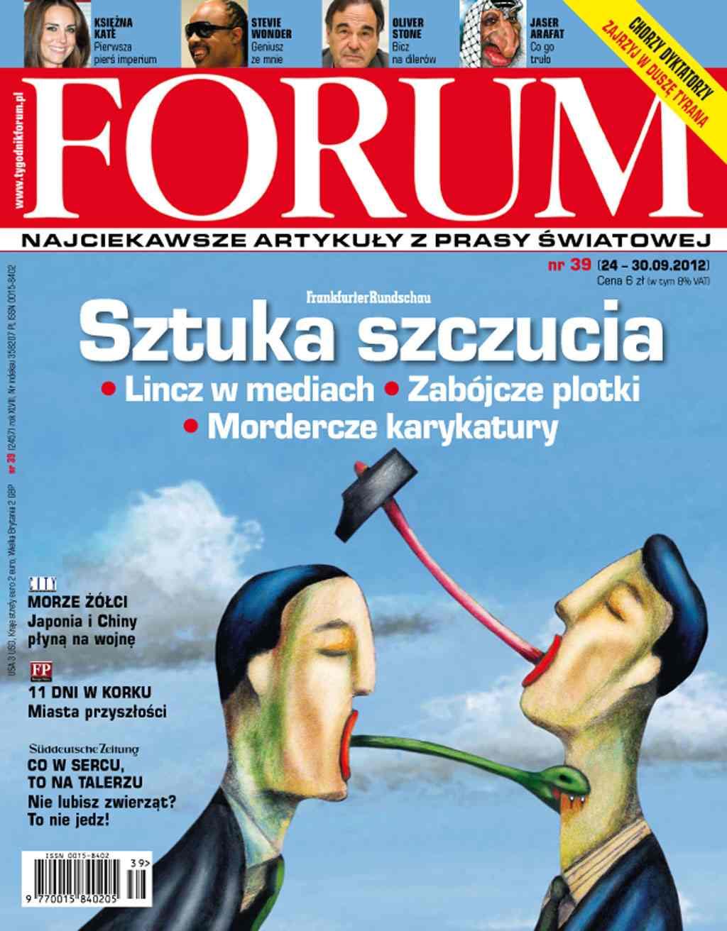 Forum nr 39/2012 - Ebook (Książka PDF) do pobrania w formacie PDF