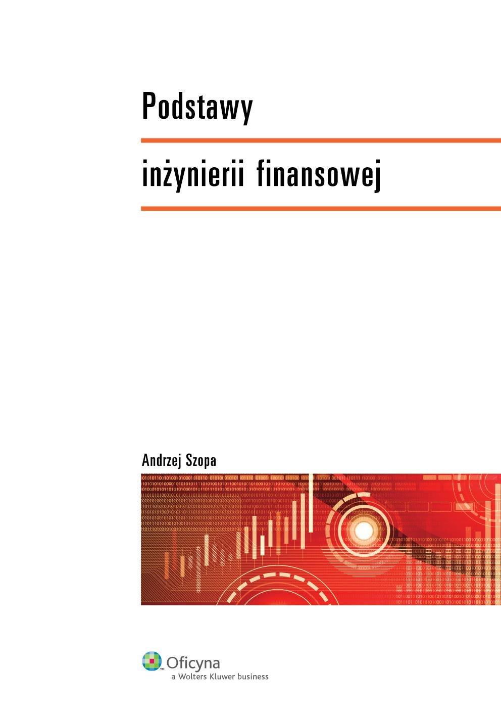 Podstawy inżynierii finansowej - Ebook (Książka PDF) do pobrania w formacie PDF