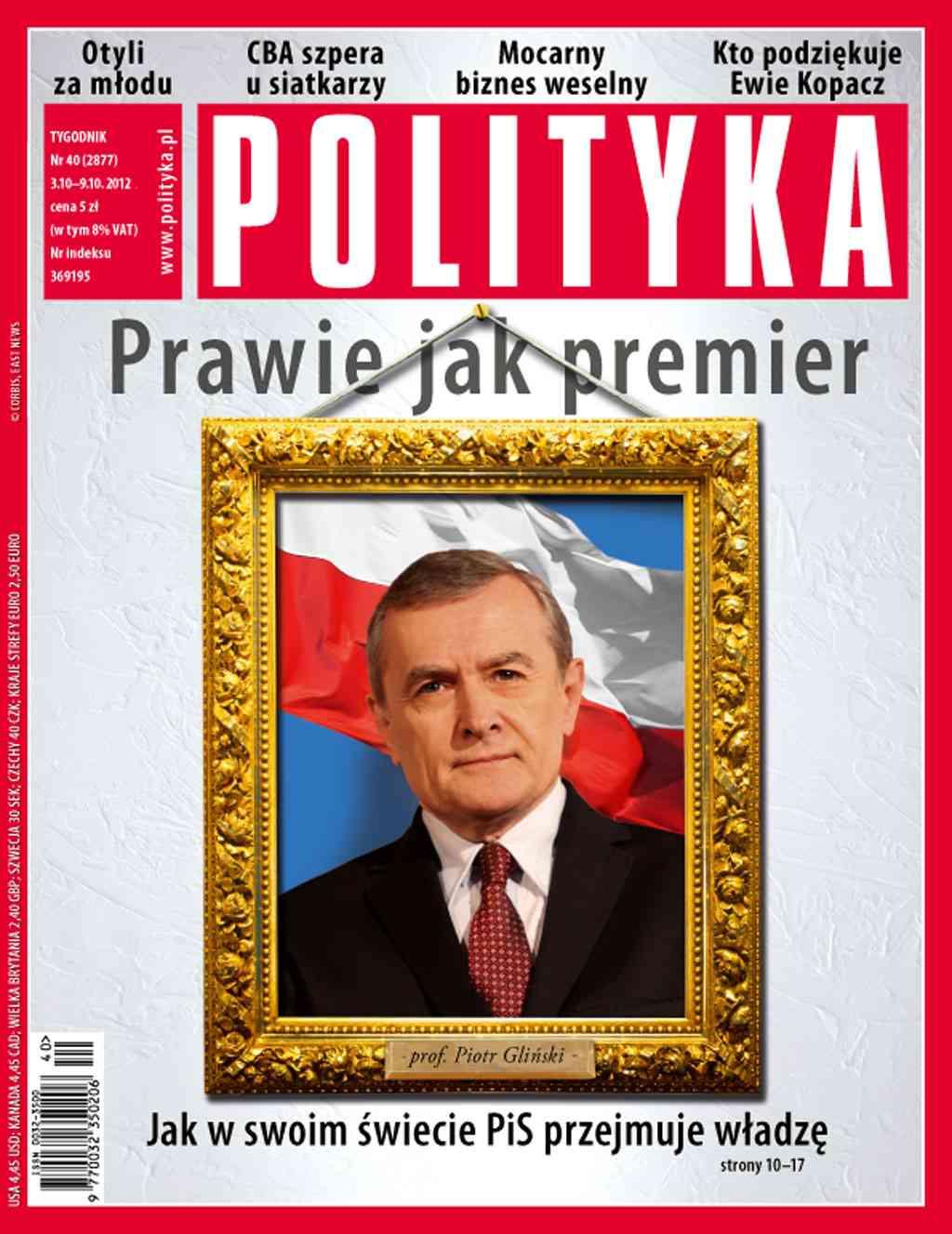 Polityka nr 40/2012 - Ebook (Książka PDF) do pobrania w formacie PDF