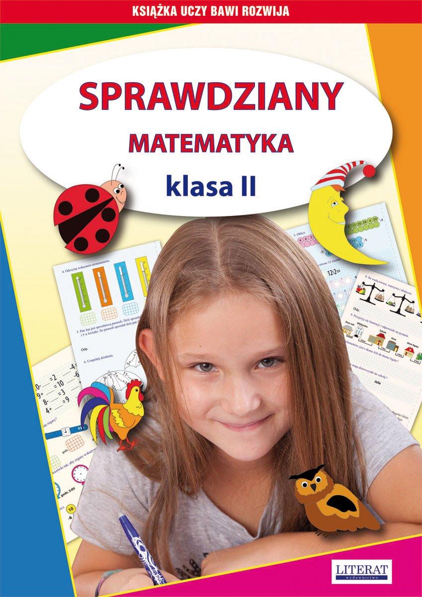 Sprawdziany. Matematyka. Klasa II - Ebook (Książka PDF) do pobrania w formacie PDF