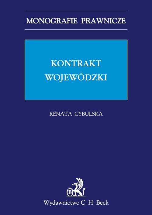 Kontrakt wojewódzki - Ebook (Książka PDF) do pobrania w formacie PDF