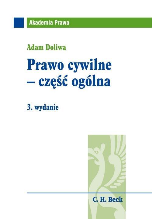 Prawo cywilne - część ogólna - Ebook (Książka PDF) do pobrania w formacie PDF