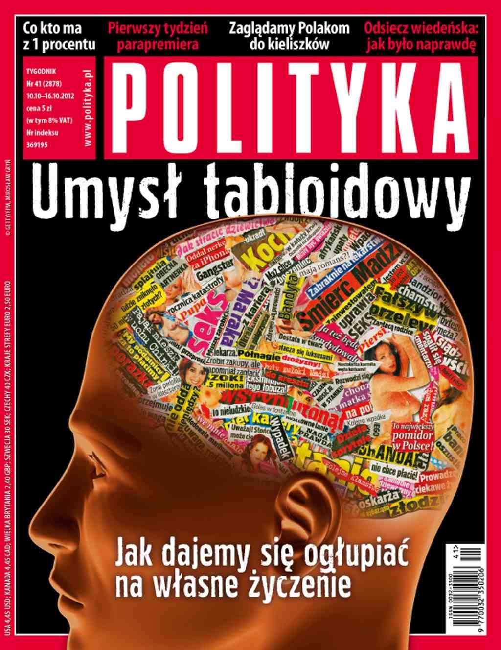 Polityka nr 41/2012 - Ebook (Książka PDF) do pobrania w formacie PDF