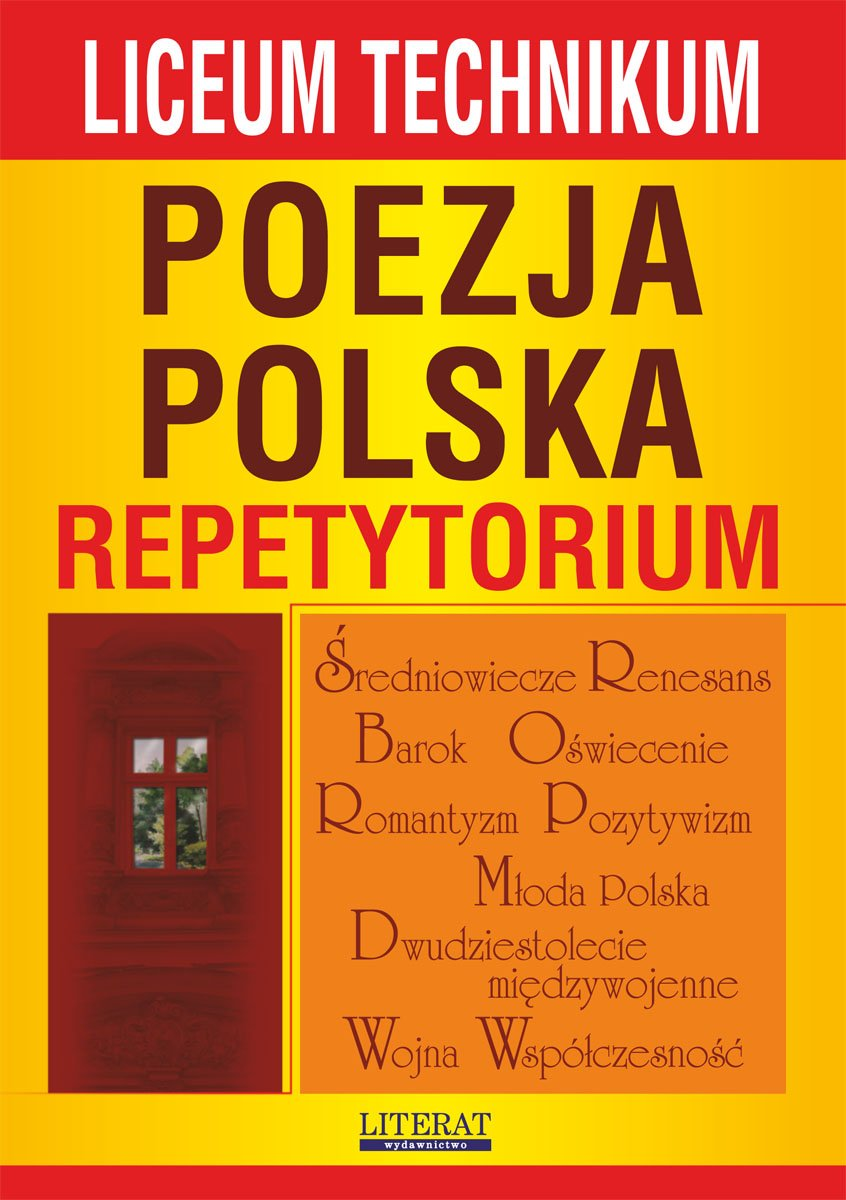 Poezja polska. Repetytorium. Liceum, technikum - Ebook (Książka PDF) do pobrania w formacie PDF