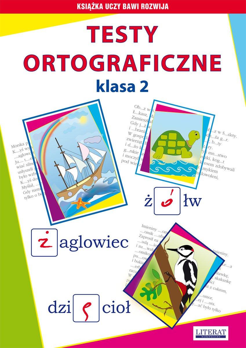 Testy ortograficzne. Klasa 2 - Ebook (Książka PDF) do pobrania w formacie PDF