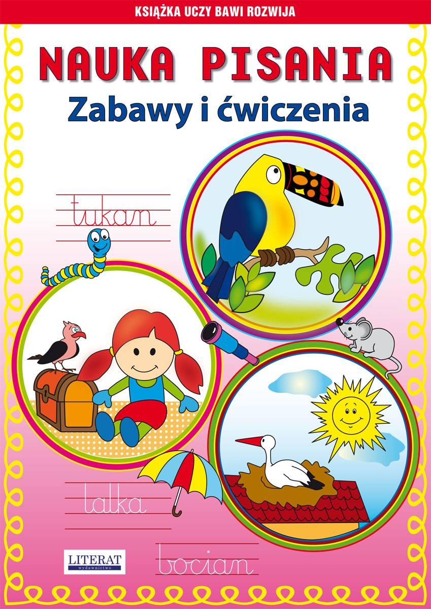 Nauka pisania. Zabawy i ćwiczenia. Tukan - Ebook (Książka PDF) do pobrania w formacie PDF