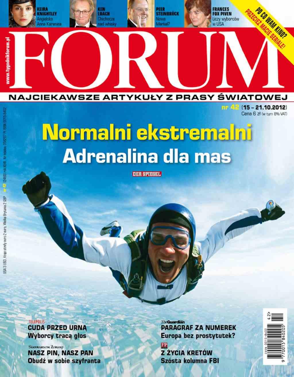 Forum nr 42/2012 - Ebook (Książka PDF) do pobrania w formacie PDF