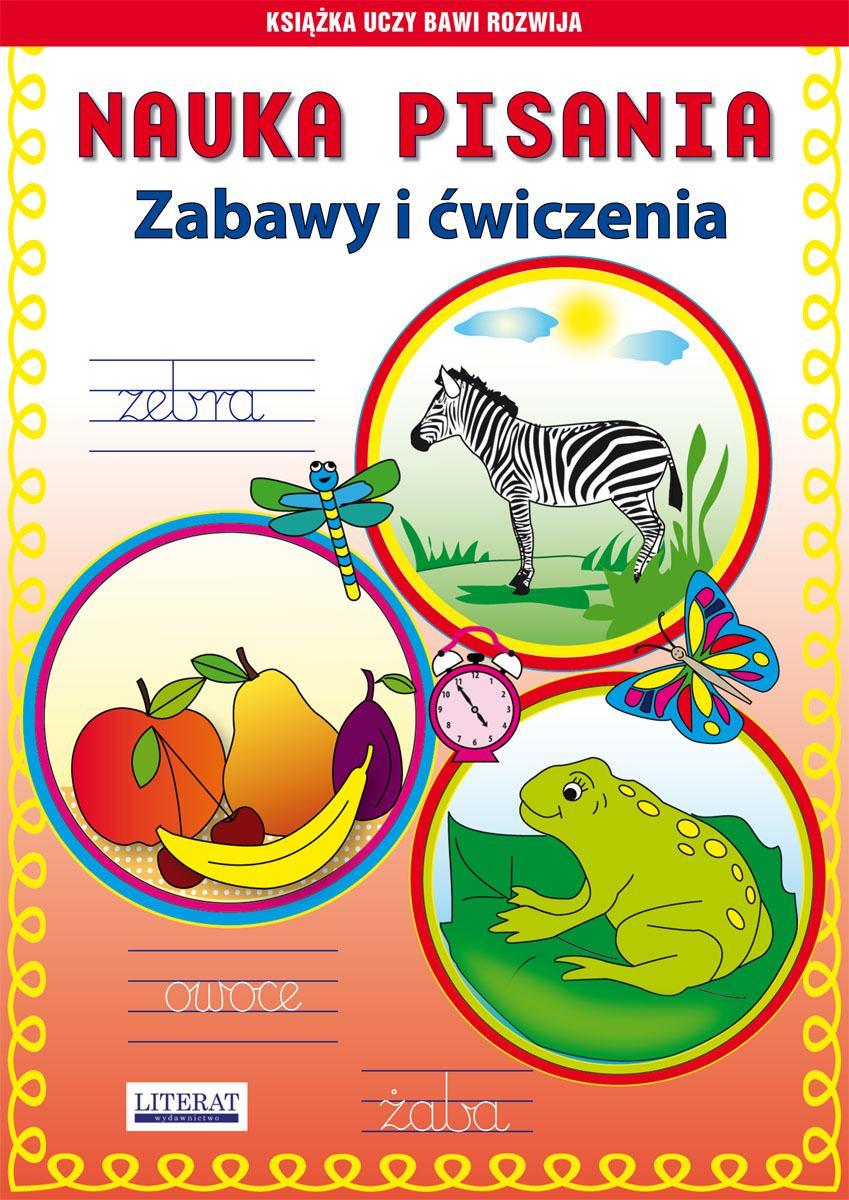 Nauka pisania. Zabawy i ćwiczenia. Zebra - Ebook (Książka PDF) do pobrania w formacie PDF