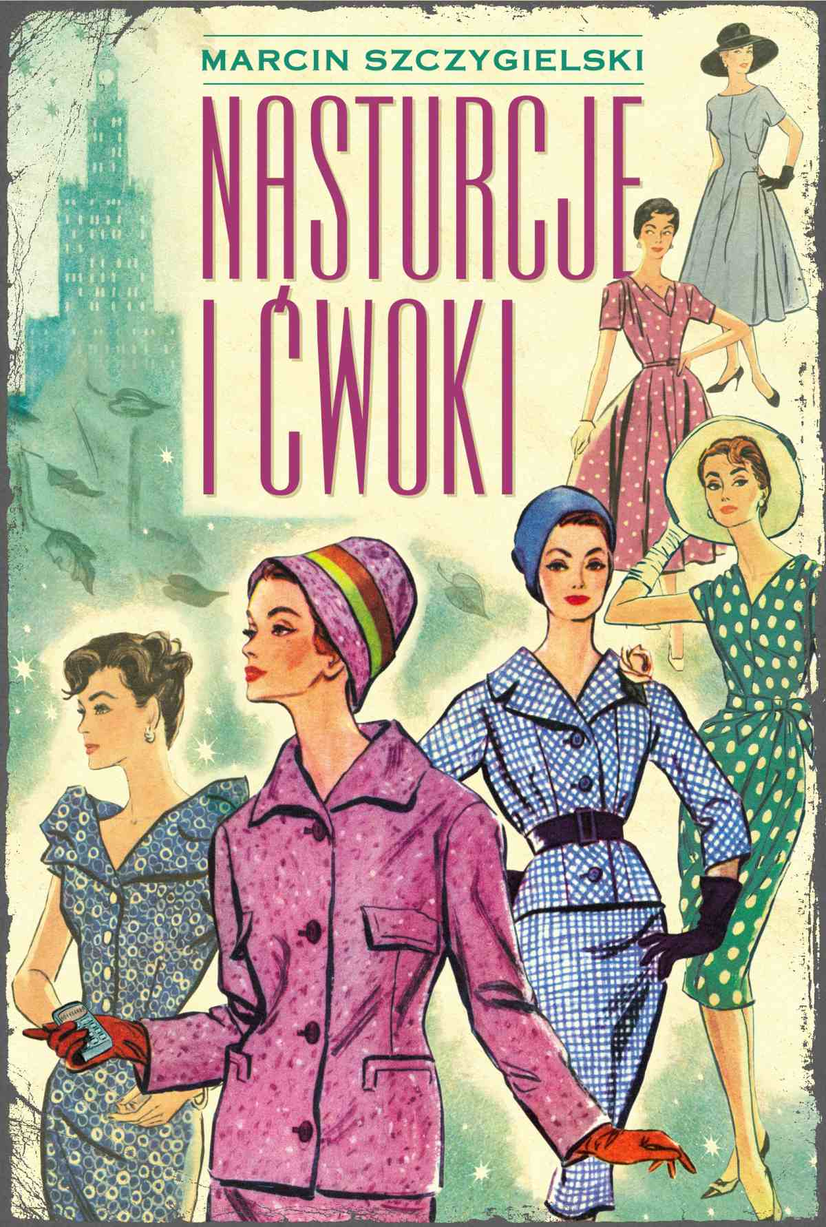 Nasturcje i ćwoki - Ebook (Książka na Kindle) do pobrania w formacie MOBI